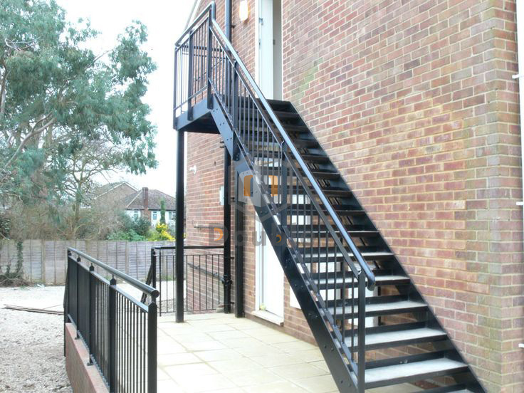 China Outdoor Steel Structure Staircase Australian ...