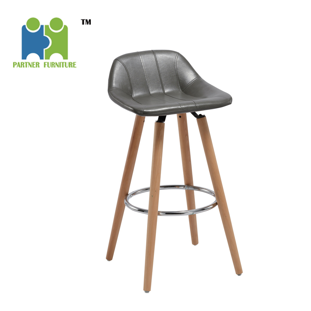 Awesome Hot Item Redbud Cheap Western Kitchen Bar Stool For Heavy People Wood Leg Base Bar High Stool Gmtry Best Dining Table And Chair Ideas Images Gmtryco
