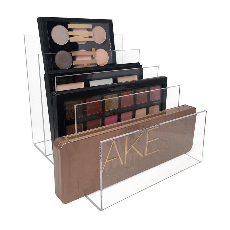 China Customized Acrylic Makeup Palette Organizer Clear