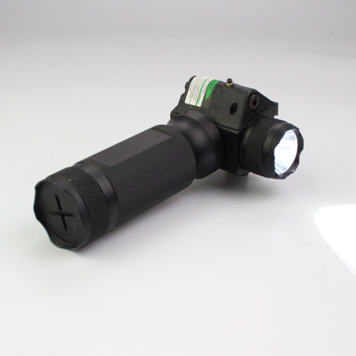 New Tactical Handgrip Green Laser Flashlight with Q5 250 Lumens LED Light Torch pictures & photos