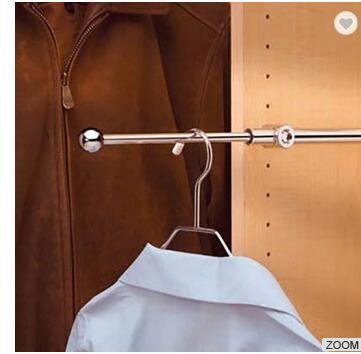 China Wardrobe Fittings Closet Hardware Wardrobe Rail Valet Rod
