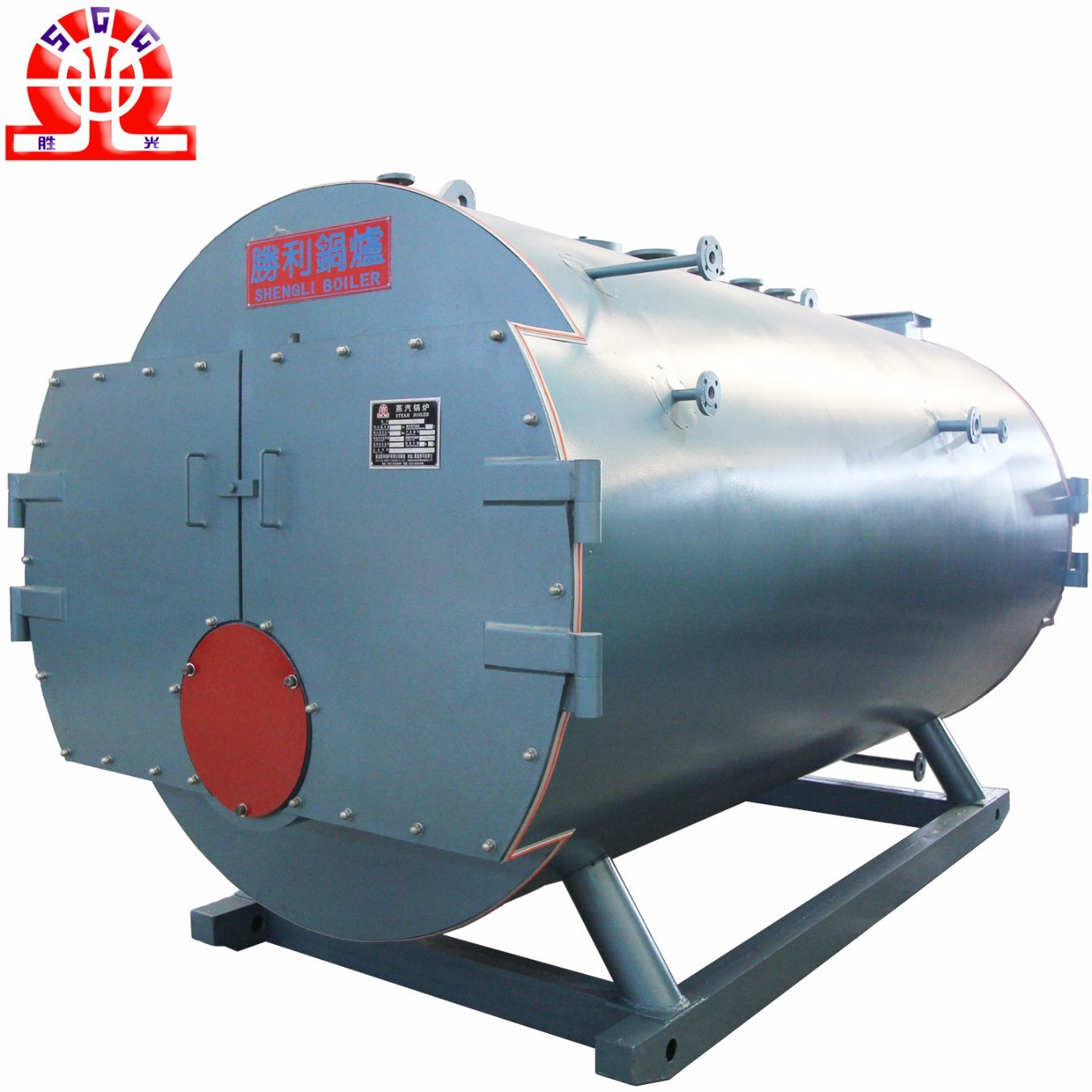 China 2% Energy Saving Wet Back Structure Oil Gas Industrial Boiler ...