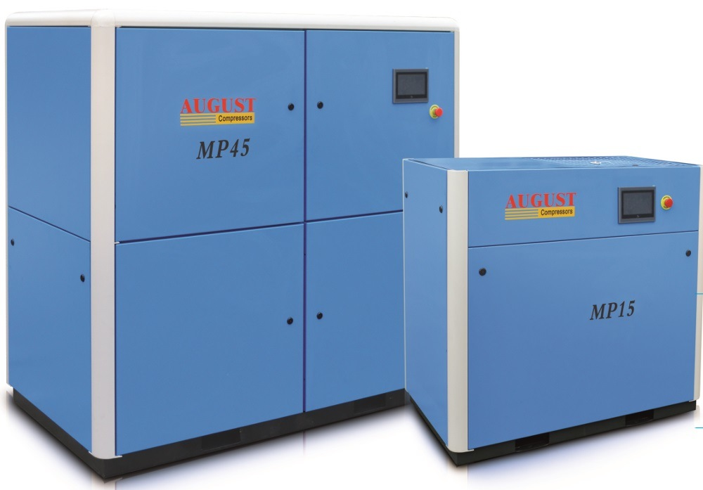 Permanent Magnet Variable Frequency Screw Compressor