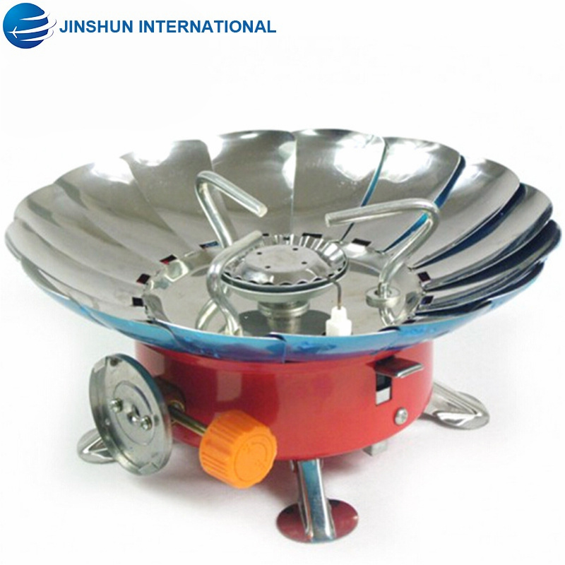Outdoor Portable Gas Stove Windproof Mini Camping Burner