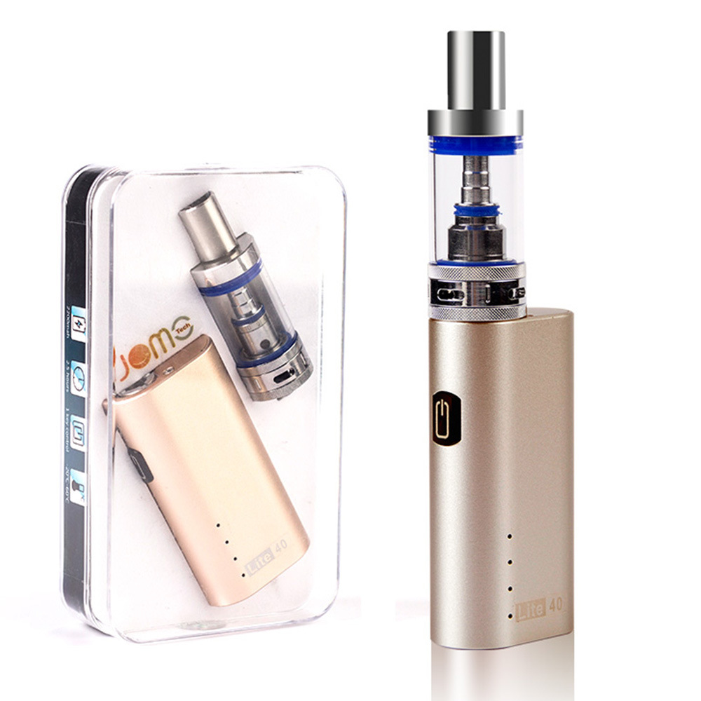 100% Original Jomo New Design 40 Watt E Cig Box Mod Lite 40W Vapor Mod Kit