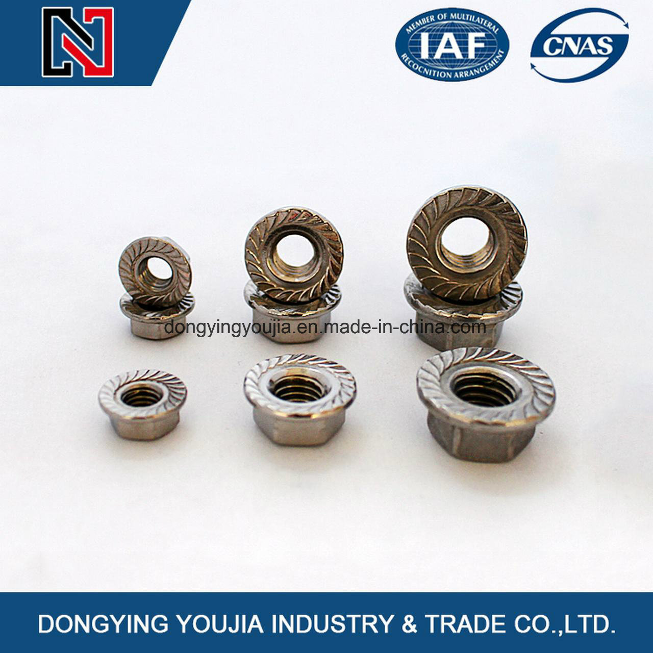 Flange Hexagon Nuts
