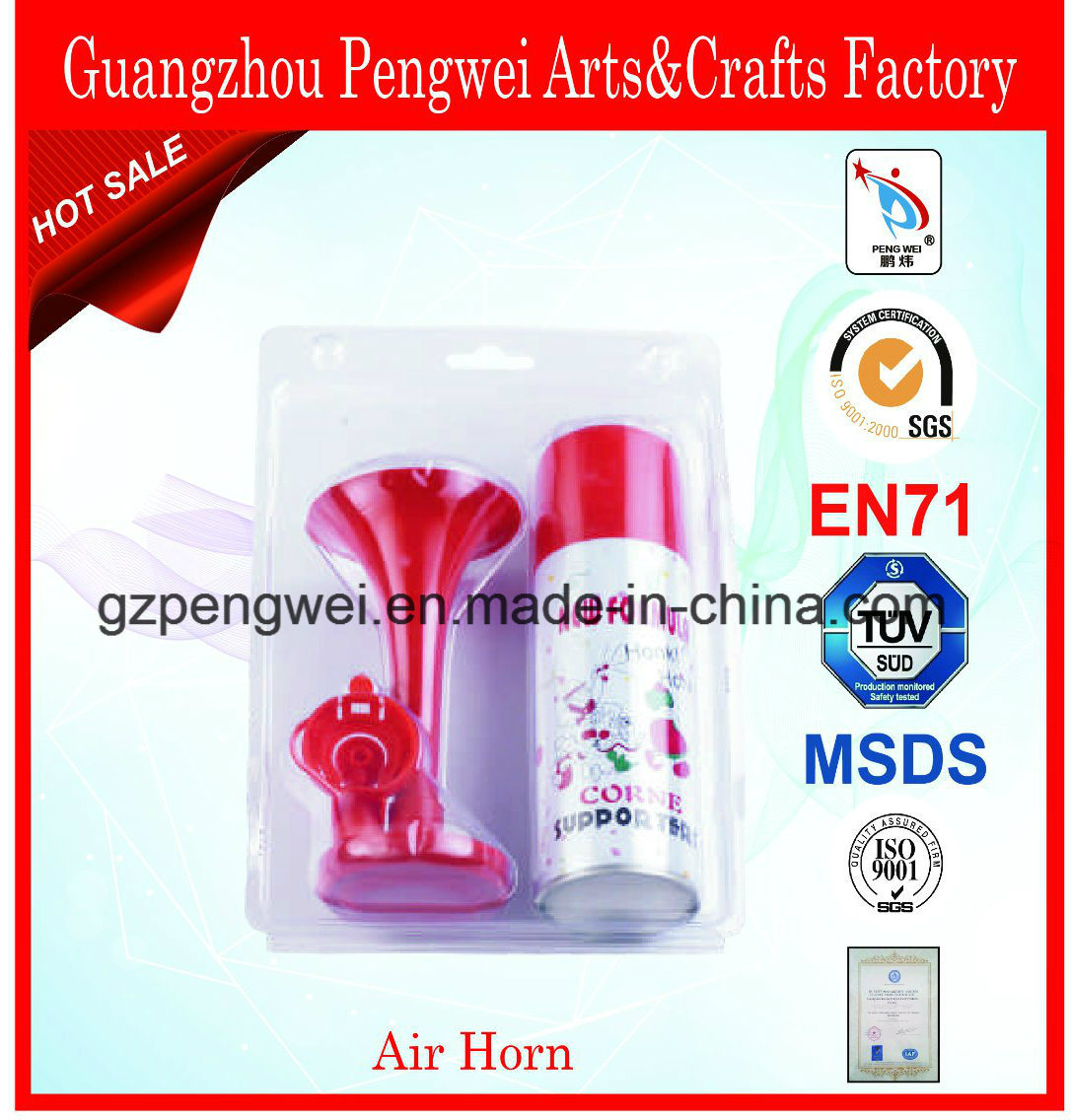 Mini Gas Air Horn, Loud Soud Noise Maker