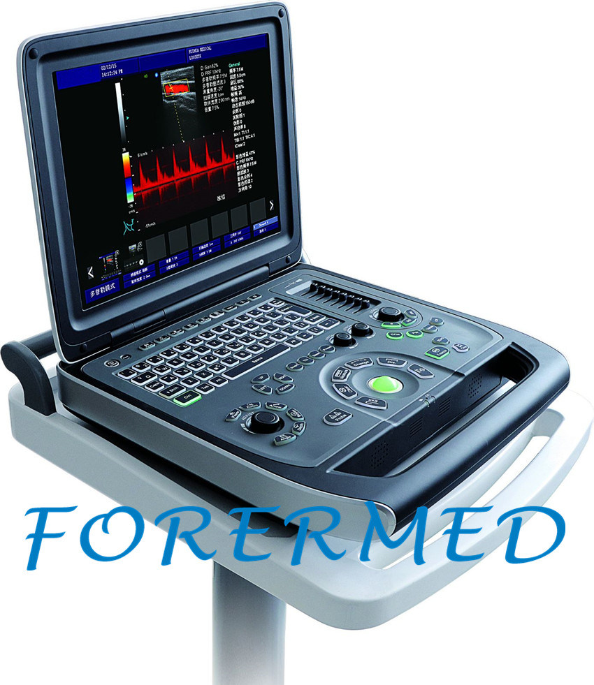 New Type Digital 3D/4D Color Doppler Portable Ultrasound Scanner pictures & photos