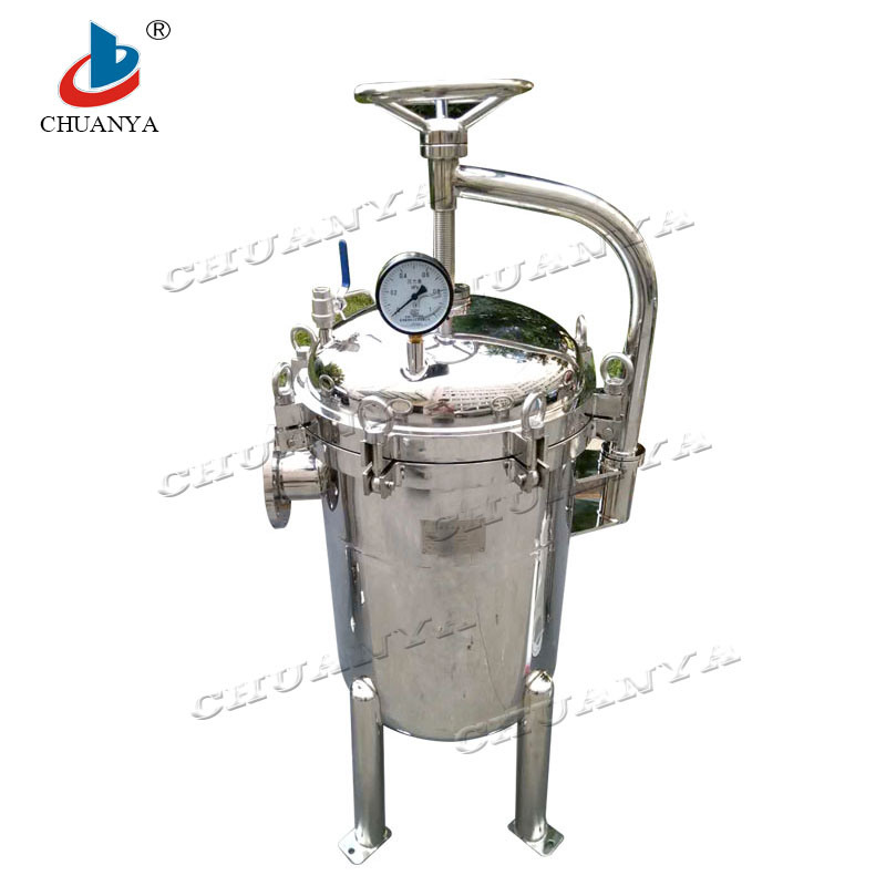 Stainless Steel Water Treatment Multi Bag Water Filter Housing pictures & photos