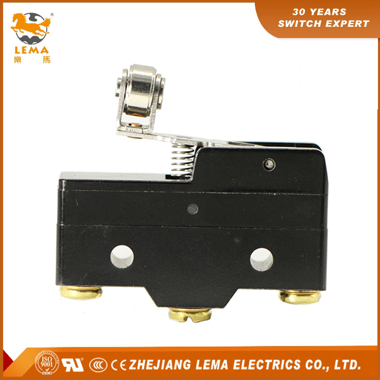 Factory Supply Lz15-Gw49-B Short Hinge Cross Roller Lever Micro Switch