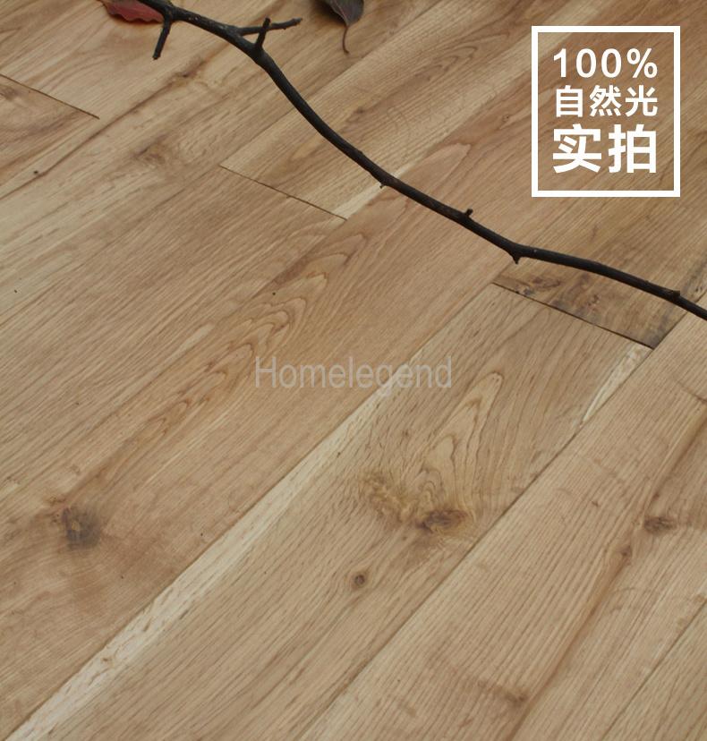 China Sandel Wood Color Oak Multi Layer Engineered Flooring Heated Floor