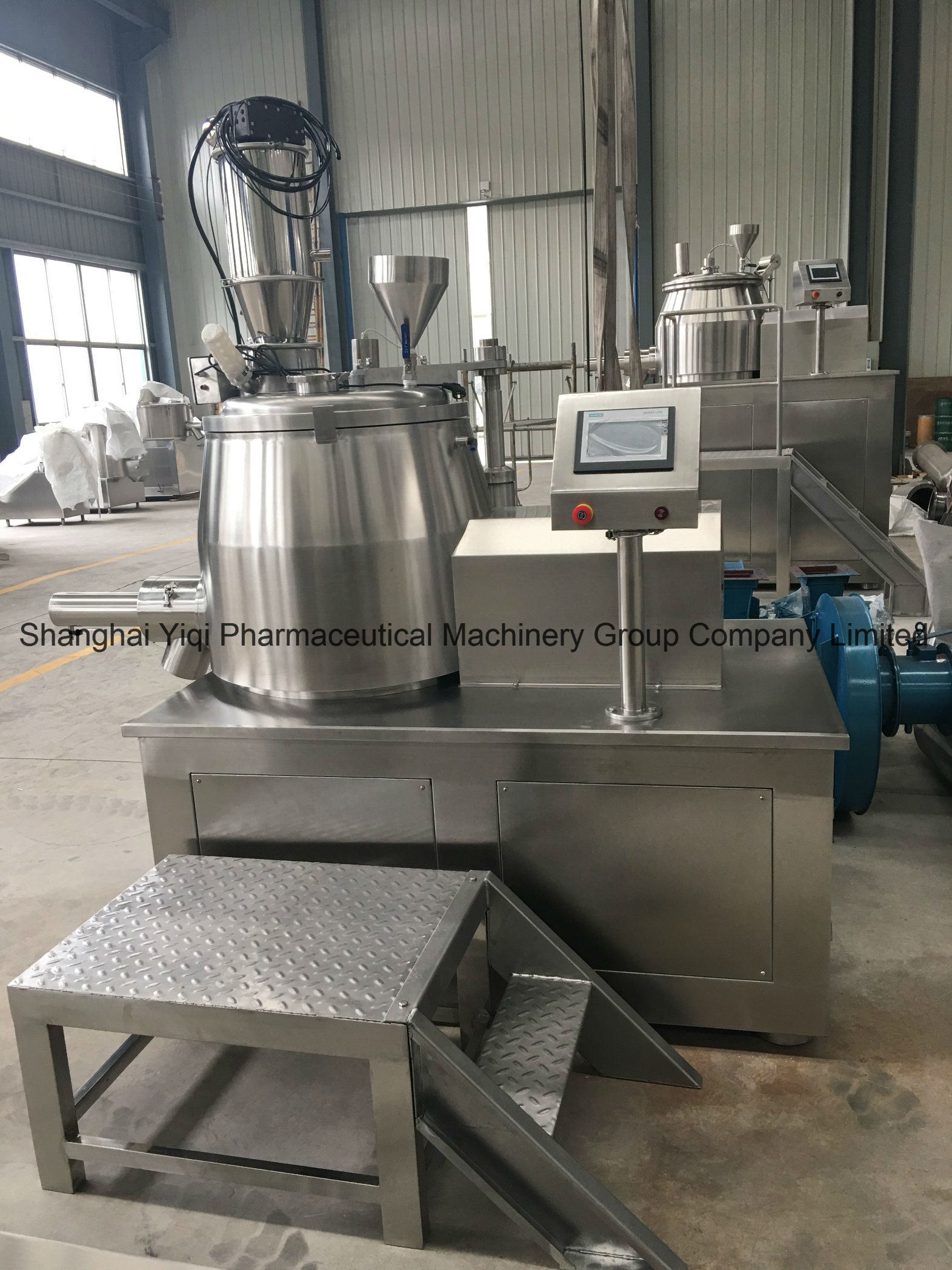 High Shear Mixing Granulator PLC Control