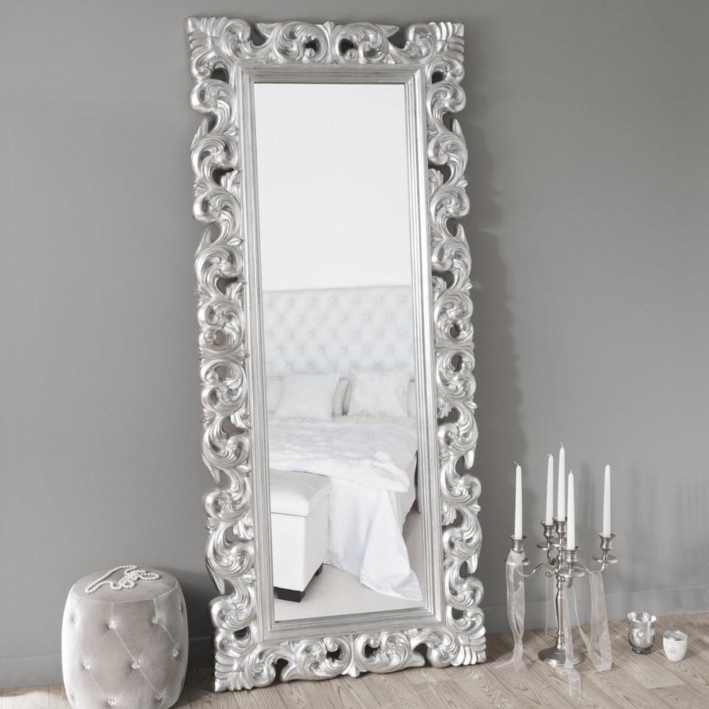 China Ornate Large Wall Decorative Polyurethane Floor Mirror China Mirror Wall Mirrors