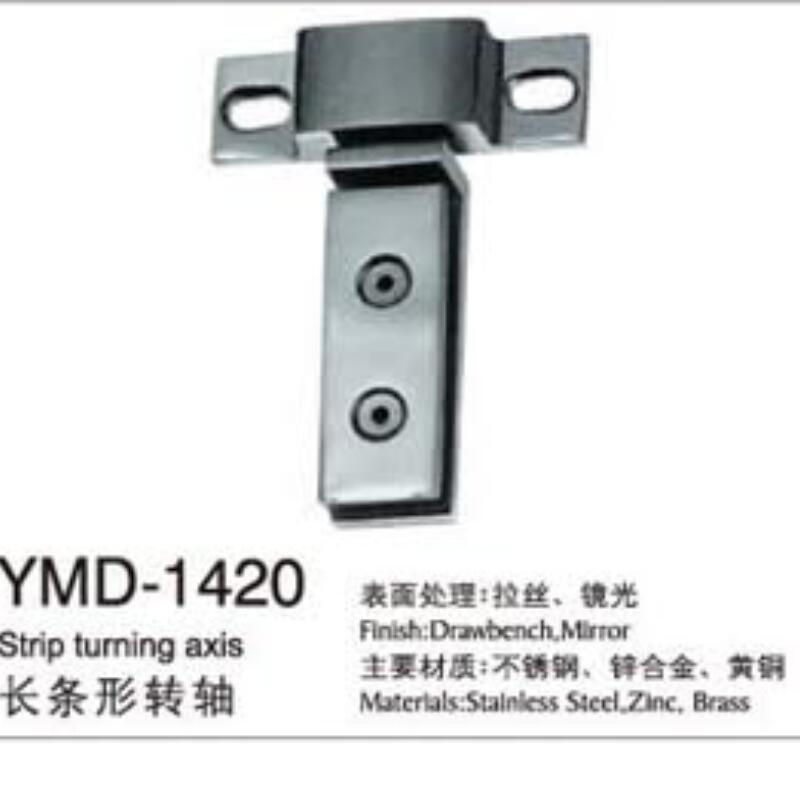 High Quality Stainless Steel Glass Door Hardware Fittings Turning Axis pictures & photos