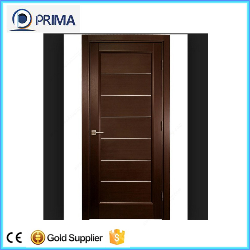 China Cheap Wooden Internal Door 6 Panel Interior Doors With Frame