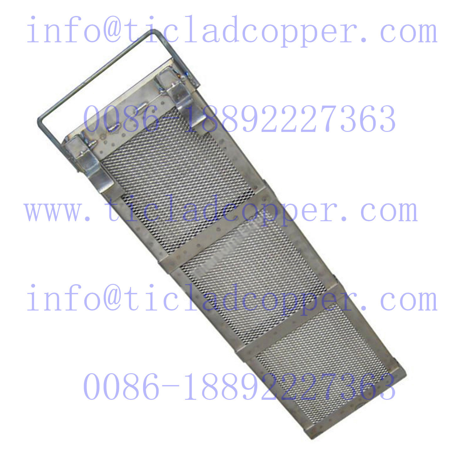 Gr 1 Titanium Anode/ Mmo Coated Mesh Basket for Electroplating/ pictures & photos