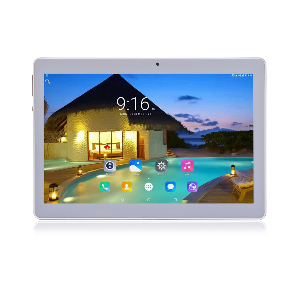 10 Inch 3G Android Quad Core 1GB 16GB 1280X800 Phone Tablet PC with WiFi Bluetooth GPS
