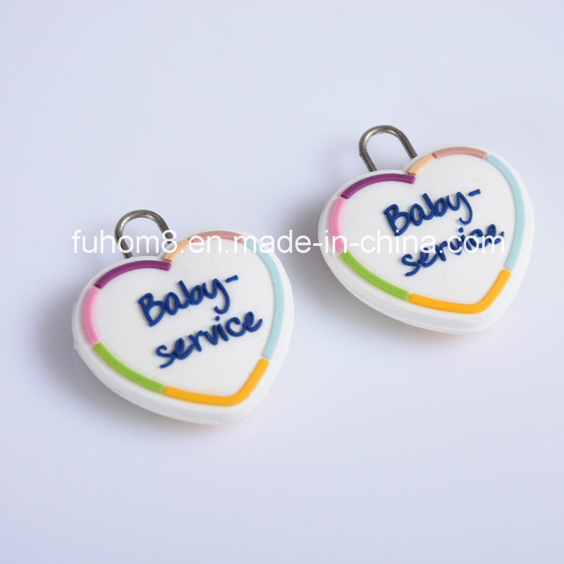 Customized Plastic Rubber Zipper Puller for Garment pictures & photos