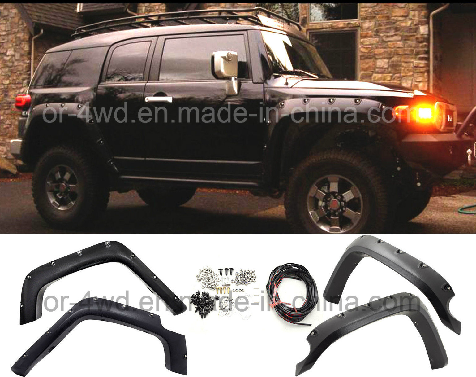 Bushwacker Fender Flares for 07-14 Toyota Fj Cruiser