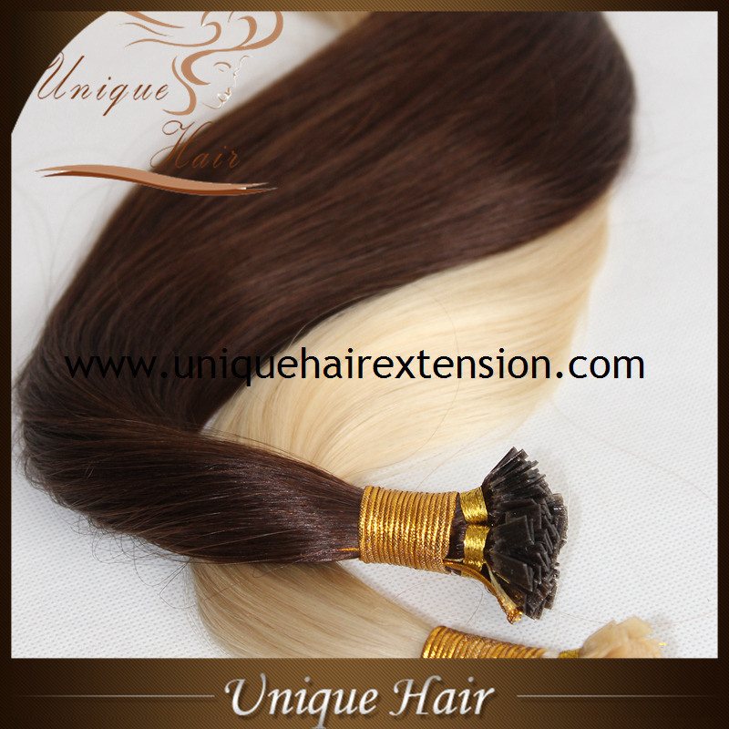 China Wholesale European Remy Flat Tip Hair Extensions China