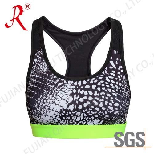 ef926a6ca6 China Spandex and Breathable Sports Bra (QF-S381) - China Top ...