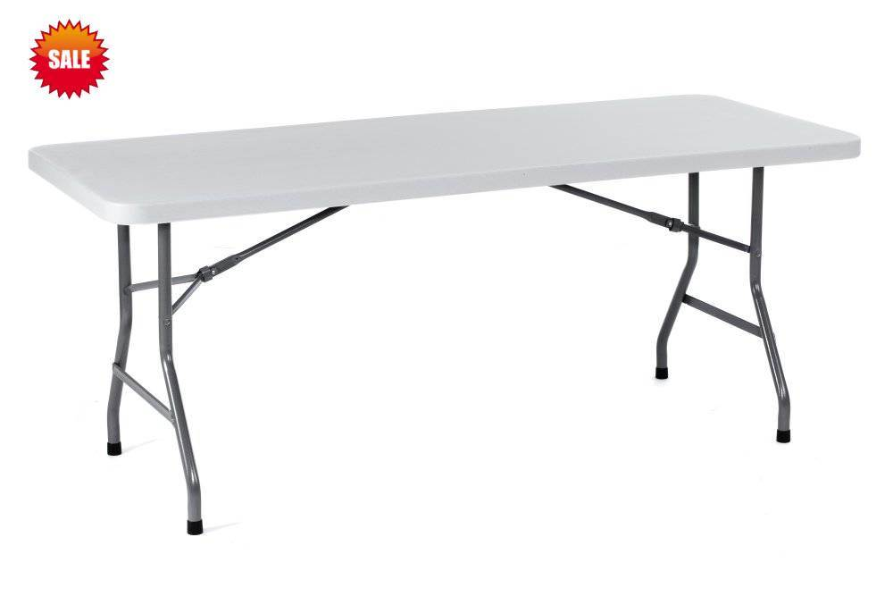Lifetime Style 6foot Retangle Plastic Table