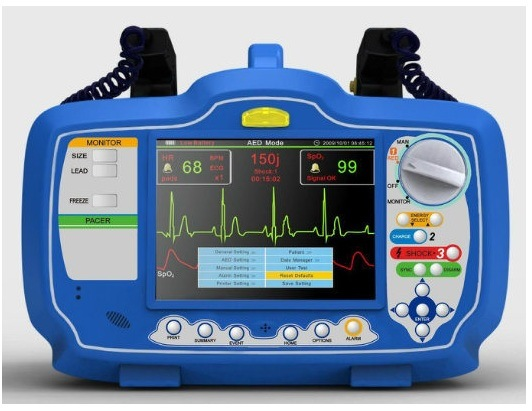 Dm7000 Defibrillator Monitor, Portable Automated External Defibrillator for Surgical Equipment pictures & photos