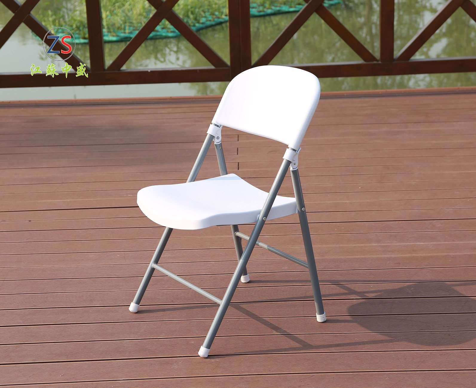 China hard outdoor metal plastic garden home folding office chair china folding chair wedding chair