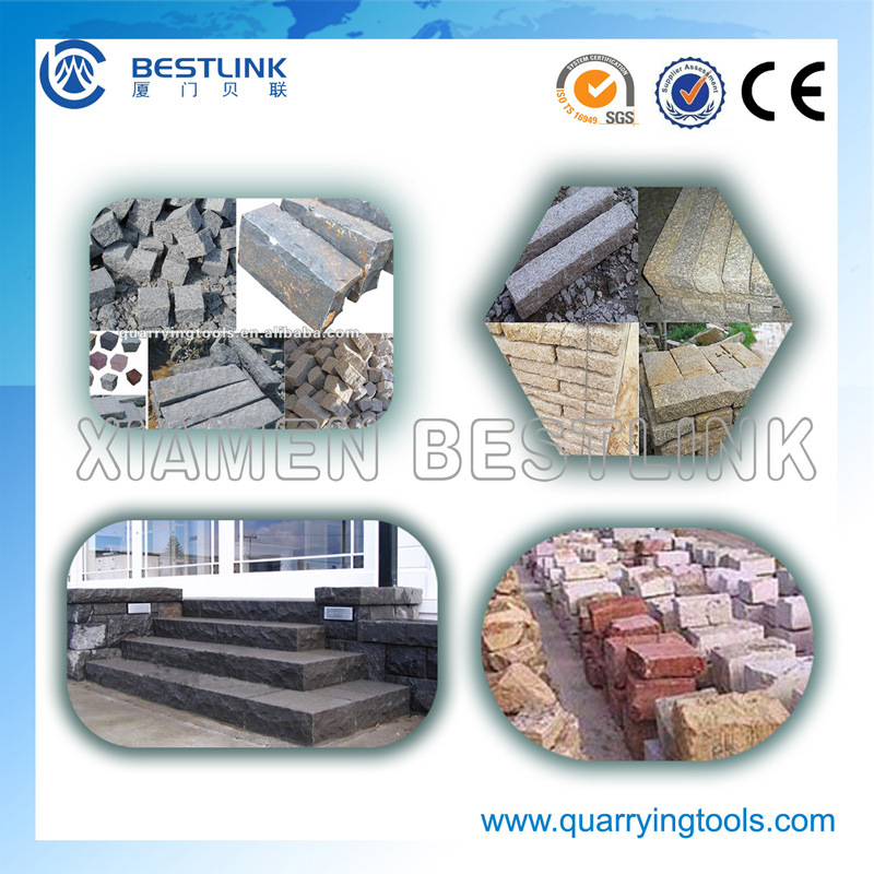 China Supplier Open Frame Stone Guillotine for Granite Block Photos ...
