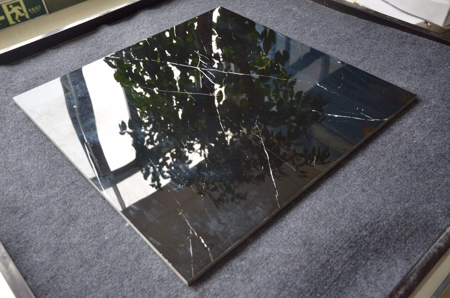 China Cheap Black Polished Porcelain Floor Tiles 600x600 Photos