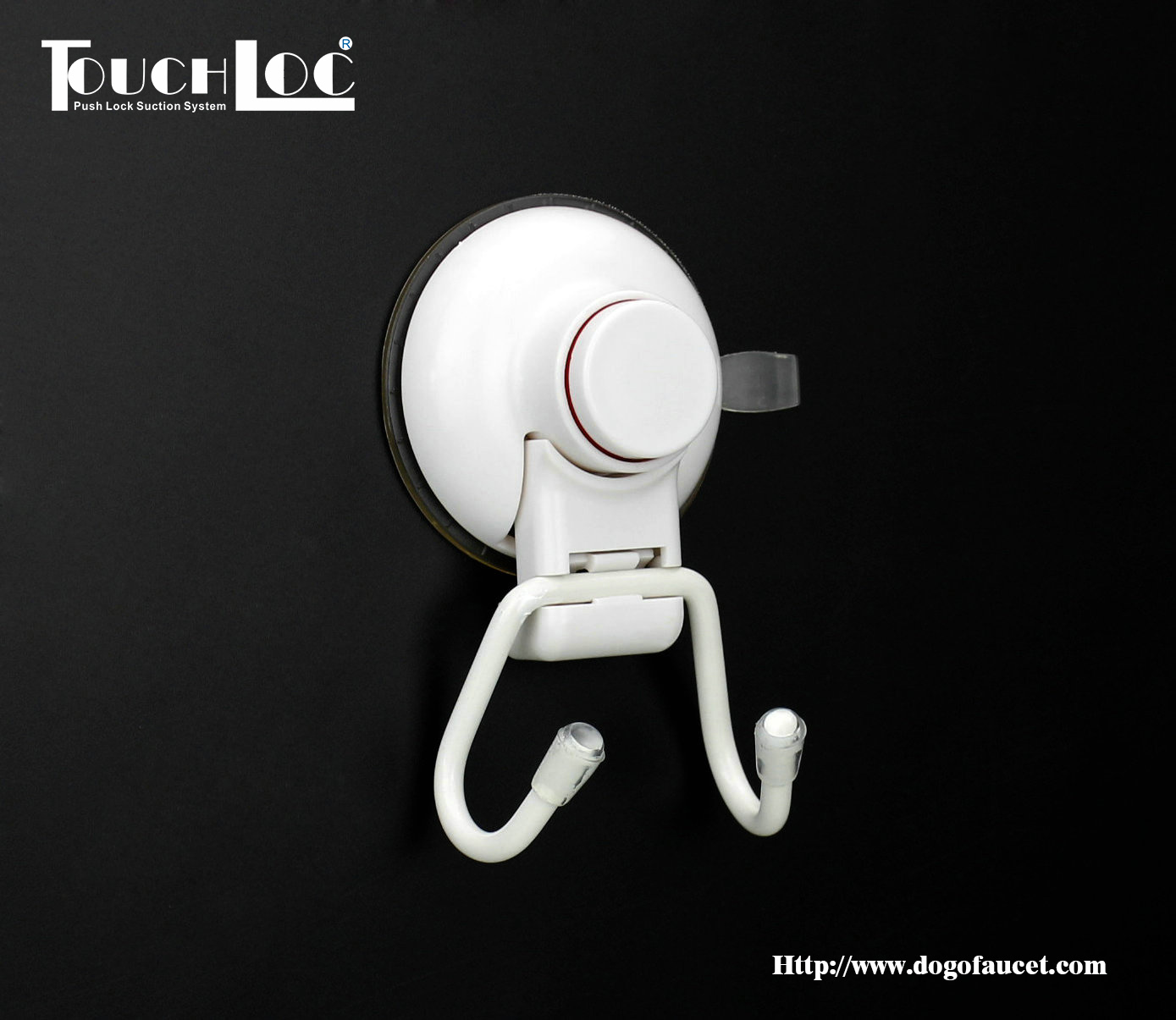 Powerful Vacuum Suction Cup Hook Holder on Tile Surface/Glass Dg-Sf1002-W pictures & photos