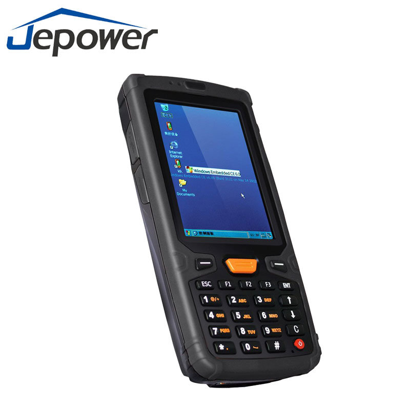 China Handheld Rugged 1d Barcode Reader 2d Bar Code Scanner Win Ce 6 0 Window Mobile Pda