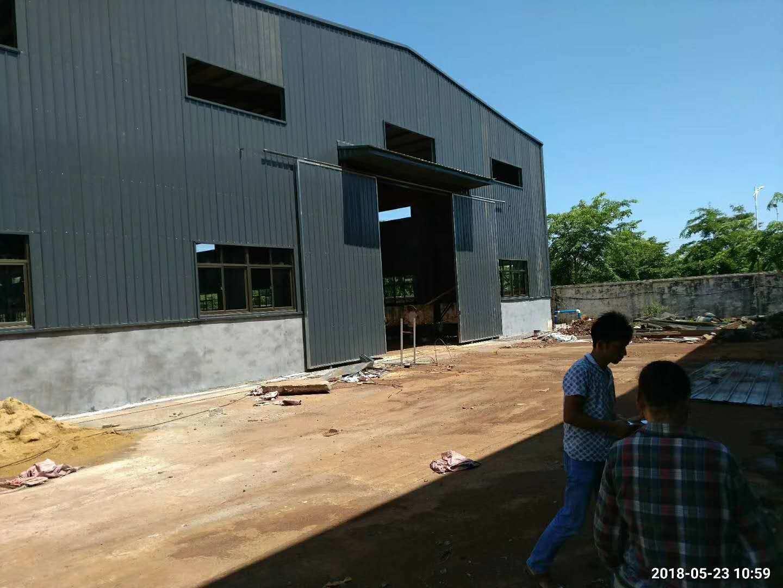 China Zinc Coating Prefabricated Engineered Steel Structure Frame