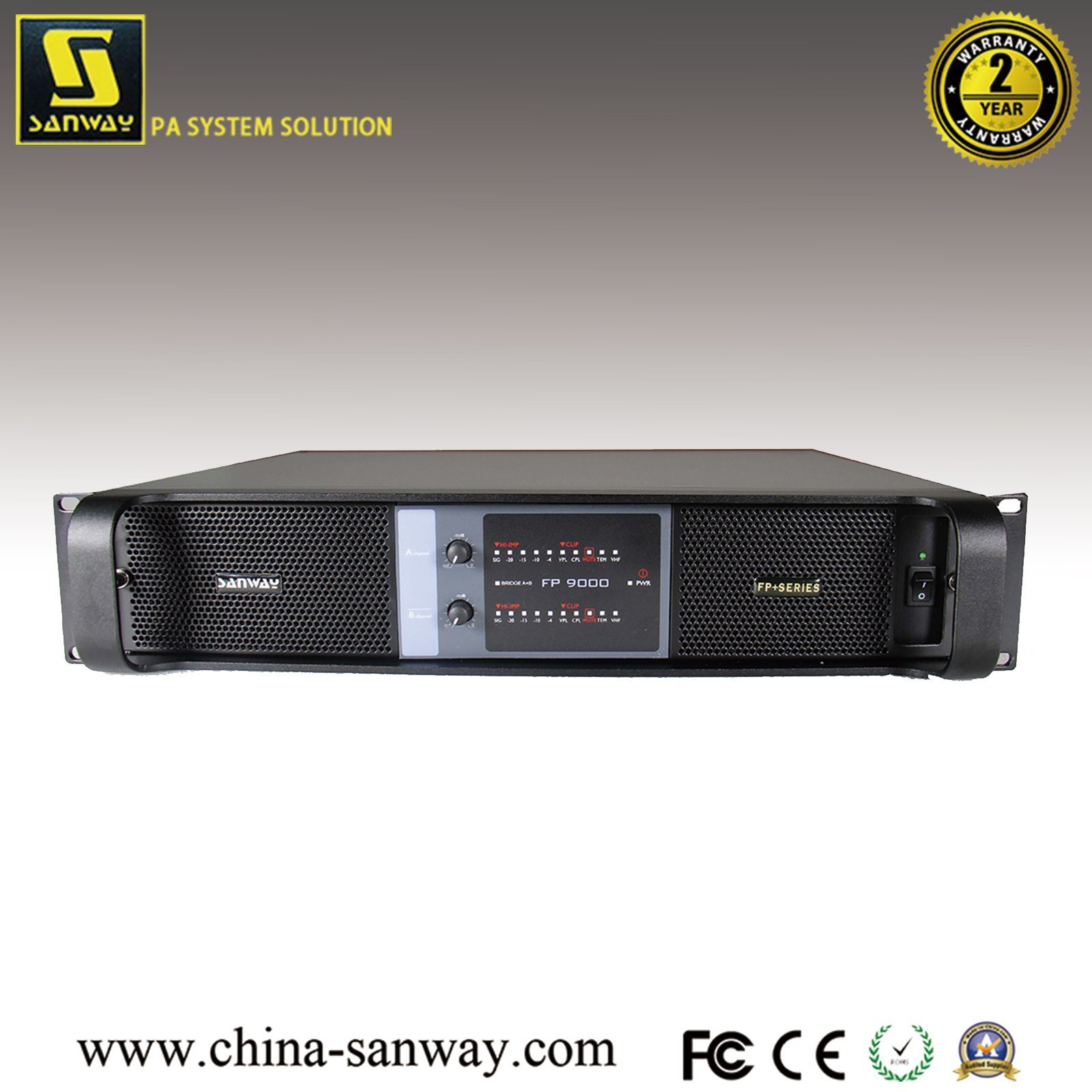 China 2 Channel Professional Mosfet High End Audio Power Amplifier Amp