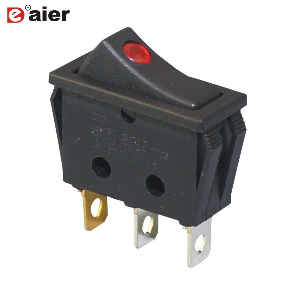 China Illuminated 24V/12V Rocker Switch with Light Indicator - China ...