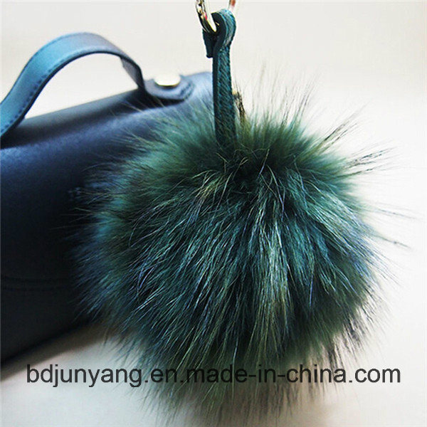 Wholesale Animal Fur Ball POM pictures & photos