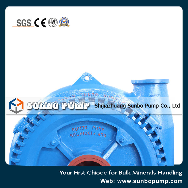 Sg Horizonal Centrifugal Gravel Pump pictures & photos