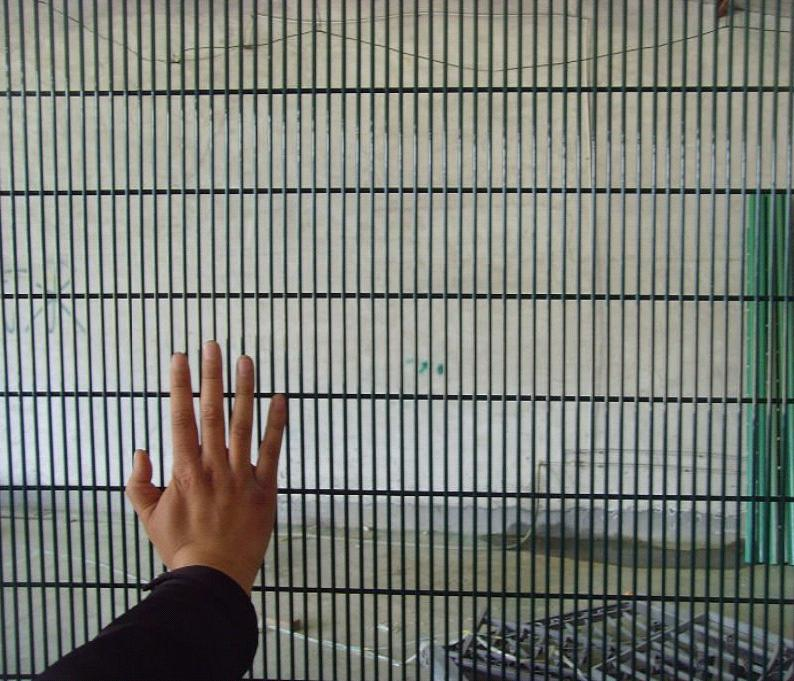 Anti Cut Prison 358 Mesh Panel Fencing/358 High Security Fencing