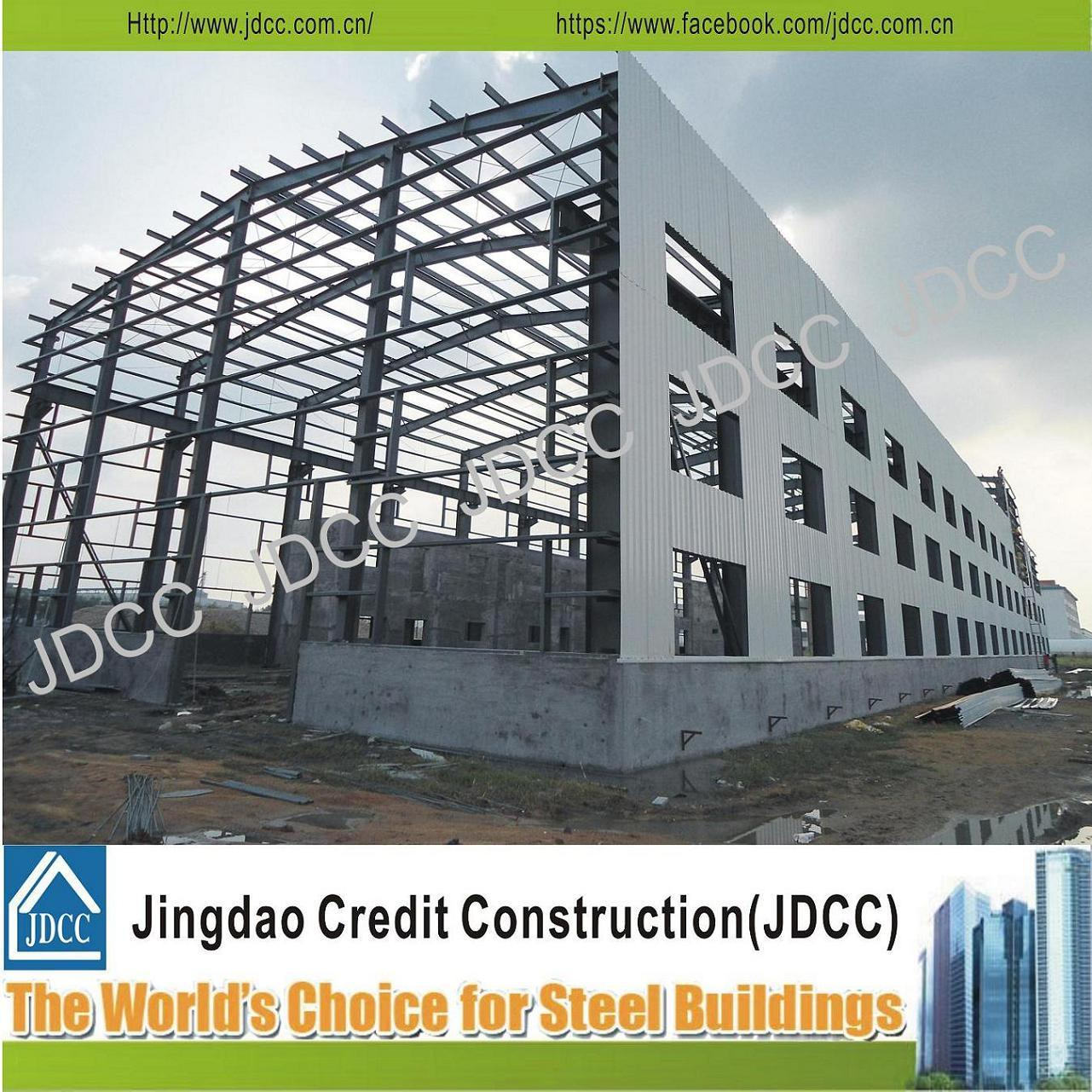 China Modern Design Factory Workshop Steel Structure