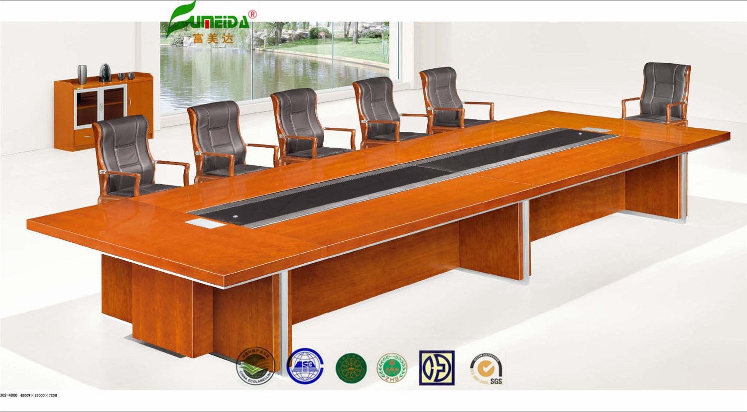 China MDF High Quality Cherry Conference Table China Conference - Cherry conference room table