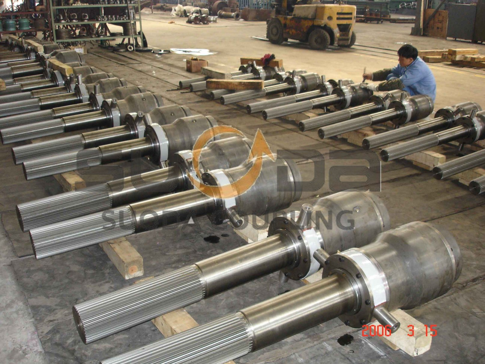 Telescopic Gear Coupling for Transmission