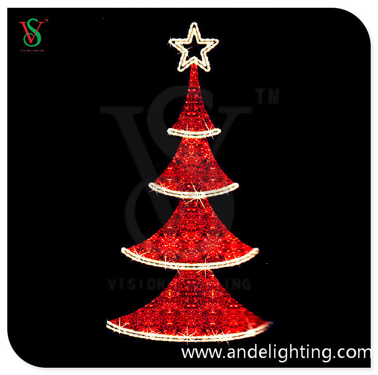 Christmas Tree Motif Light For Outdoor