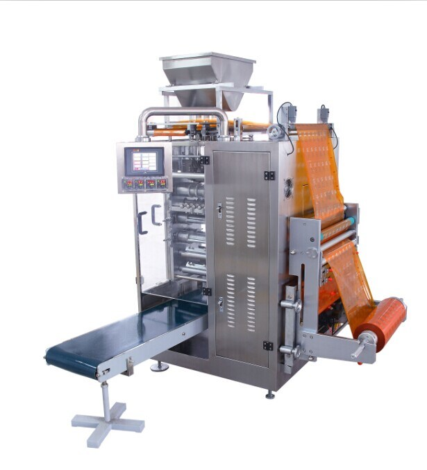 Granule Four-Side Sealing & Multi-Line Packing Machine