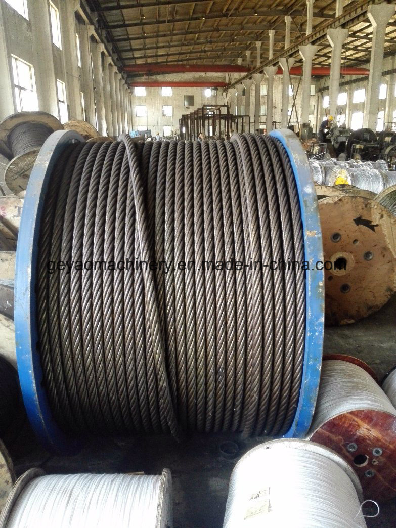 China 6*19 FC Bright Steel Wire Rope with Factory Price - China Wire ...