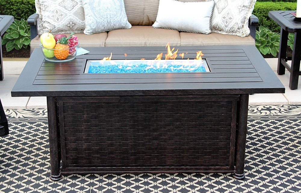 China Propan And Nature Gas Fire Pit, Outdoor Furniture With Gas Fire Pit Table