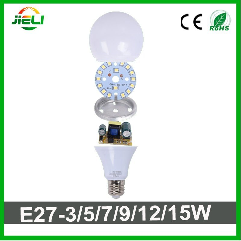 Wholesale Good Quality SMD2835 15W LED Round Bulb