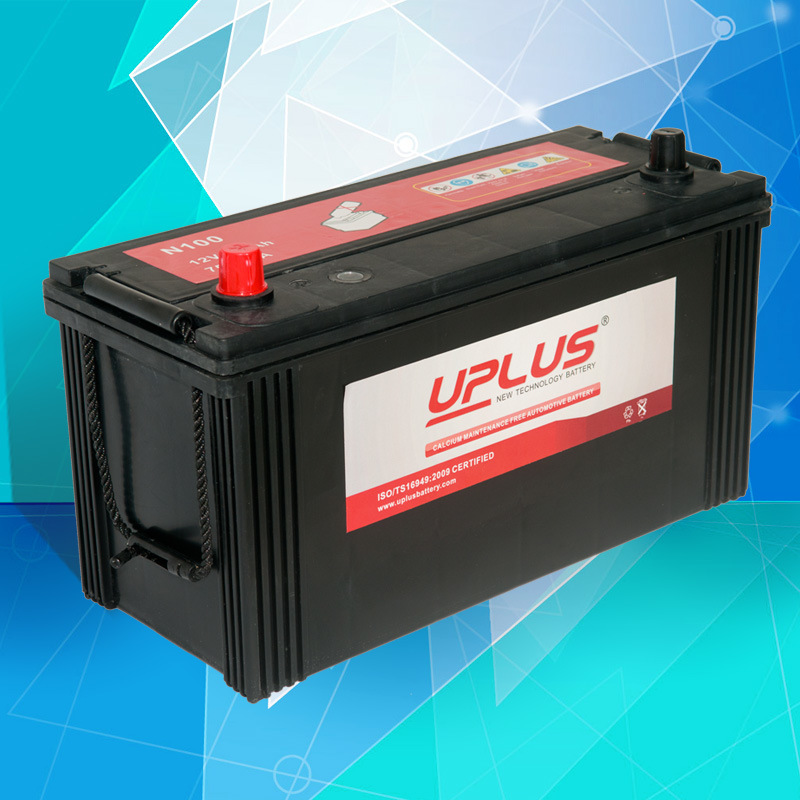 N100 12V Mentainence Free Truck Battery Automotive Battery Auto Battery