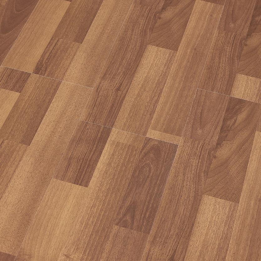 China 8 3mm E1 Ac3 Walnut U Grooved Oak, Walnut Oak Laminate Flooring