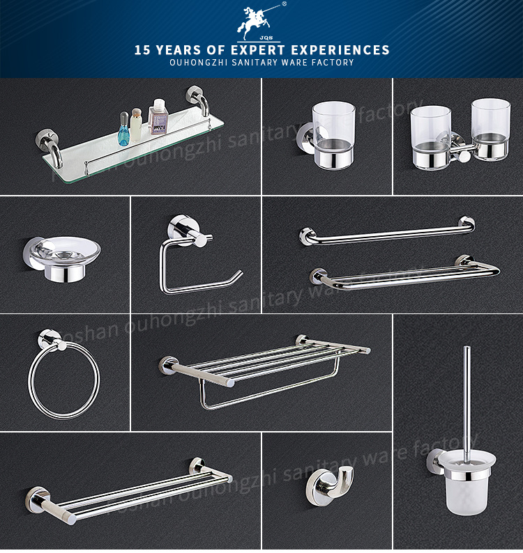 Good Quality Bathroom Accessories Stainless Steel for Hotel Project (25)