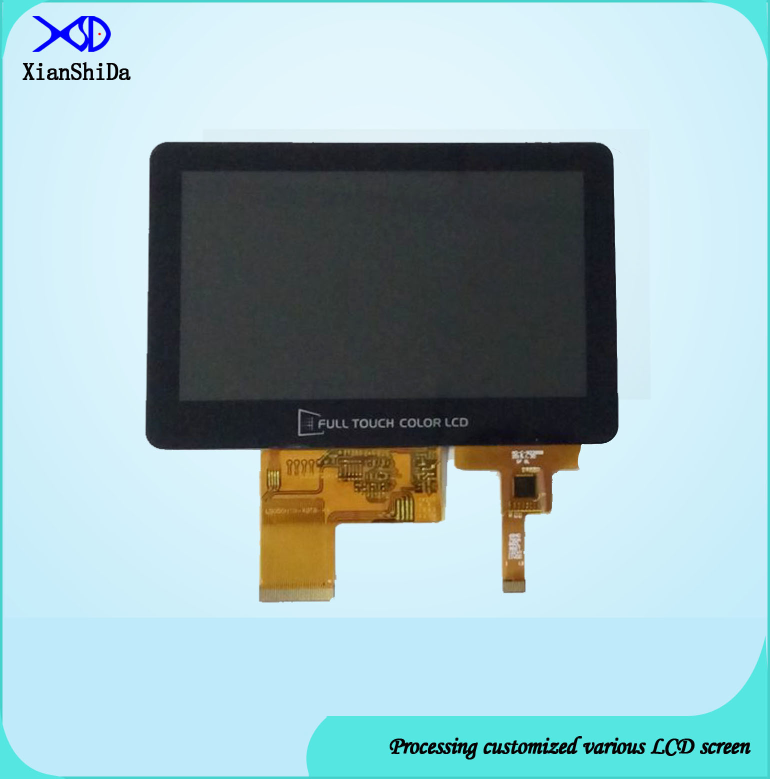 Full Viewing Angle 5.0 Inch TFT LCD Display with Capacitive Touch Panel